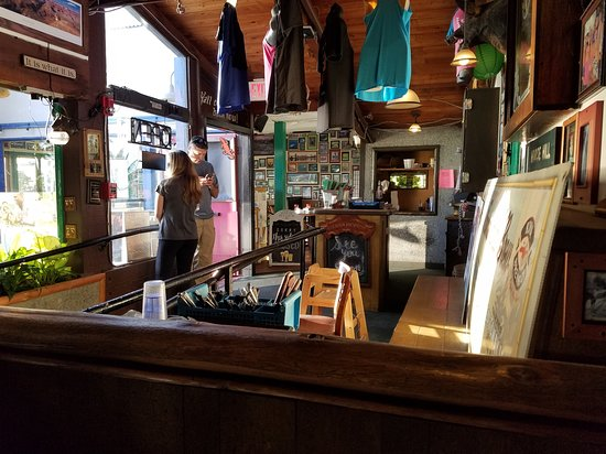 Moose McGillycuddy's: View of entrance from our table