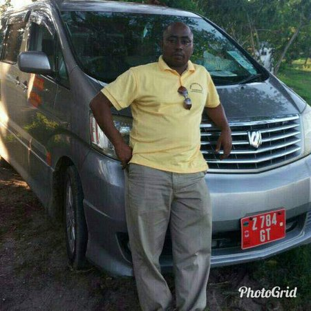 Zanzibar City, Tanzania: This is a photo of Mr Tibu who is the Director of tibu tours