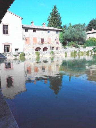 Terme Bagno Vignoni : La piazza