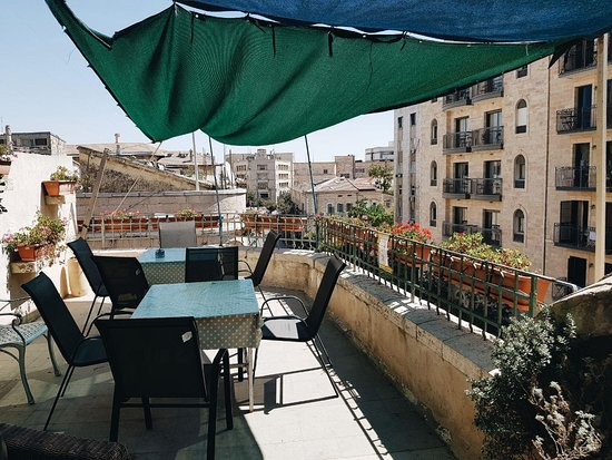 The Jerusalem Hostel: Amazing rooftop