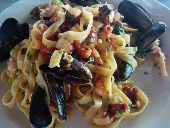 Ristorante Vincenzino: Seafood pasta