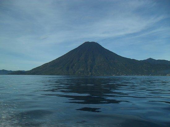 Lake Atitlan, Guatemala: Volcano view from a lake tour