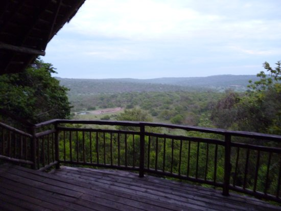Lake Mburo National Park, Uganda: View from our balcony