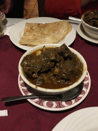 Ozone Park, NY: goat curry