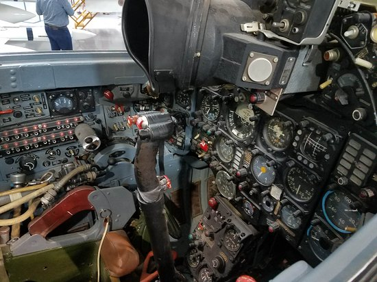 Cockpit Russian MIG-21 - Picture of Commemorative Air Force