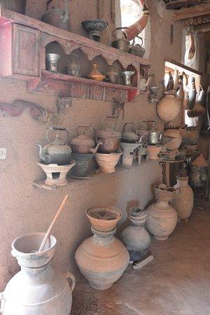 Tighmert, Maroc : différents ustensiles