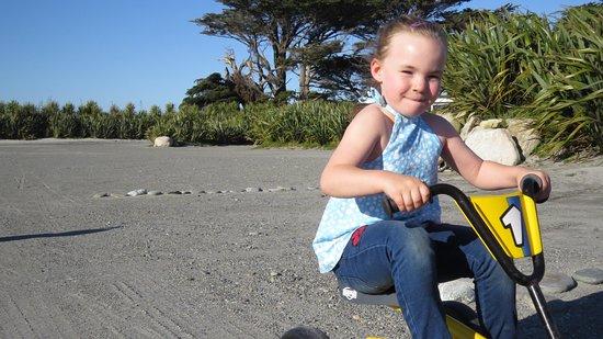 Ross, Neuseeland: Kids bike