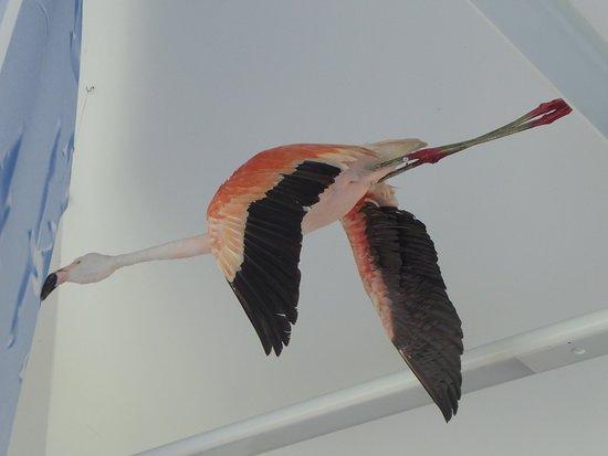 Vreden, Alemania: dieser Flamingo soll auf die Zwillbrocker Flamingos in freier Natur verweisen