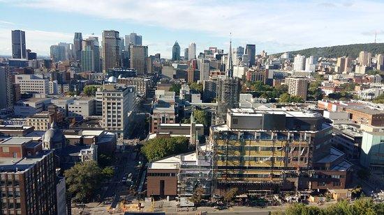 Hotels Gouverneur Montreal: Vue du 25ème étage