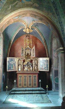 Issogne, Italy: La cappelletta dei signori del castello