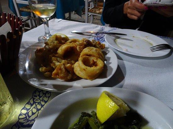 Καταρράκτης, Ελλάδα: Calamari surgelati