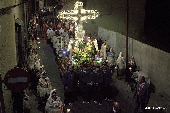 Bargas, إسبانيا: Procesión Stmo. Cristo de la Sala. Bargas (Toledo)