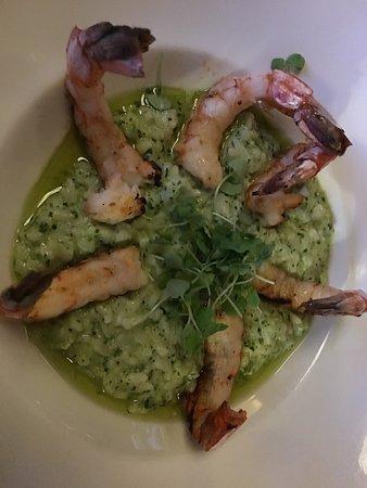 Roselle, IL: Shrimp risotto