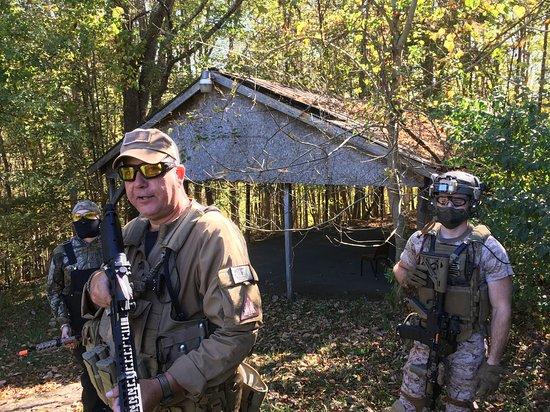 Norton, VA: Rob and company at Outpost 18