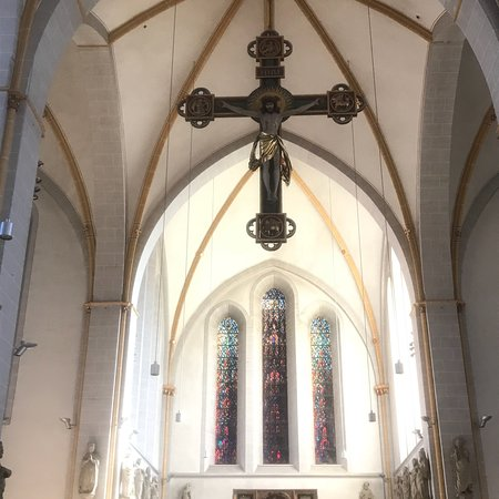 Osnabrück, Alemanha: Peaceful feeling church. Beautiful.