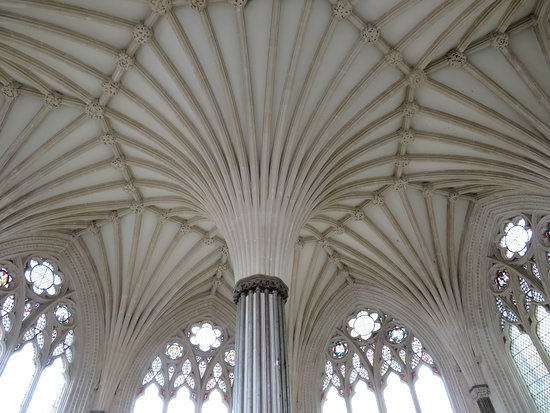 Wells Cathedral: Chapter house ceiling