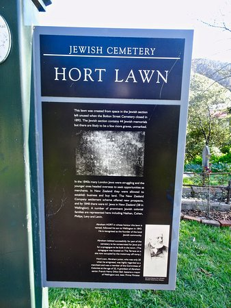 Info Sign about the Jewish Cemetery