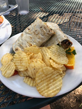 Palomar Mountain, CA: Veggie wrap