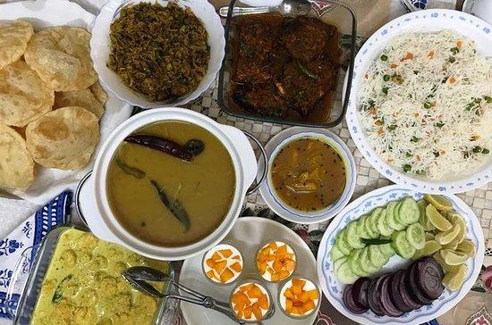 コルカタ、ニュータウンの料理教室と家庭料理のベンガルール料理