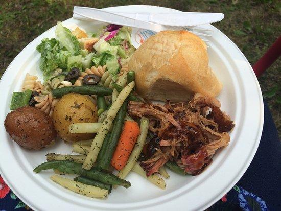 Beausejour, Καναδάς: Delicious meal