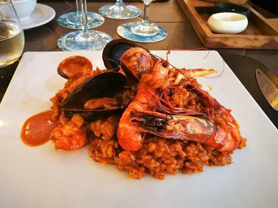 Paella Mariscos