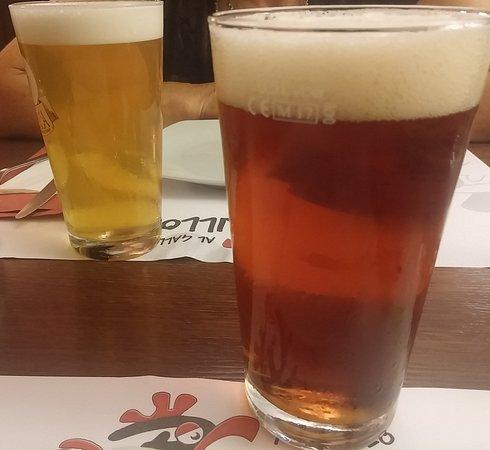 Al Gallo Brillo: birra rossa + bionda artigianali