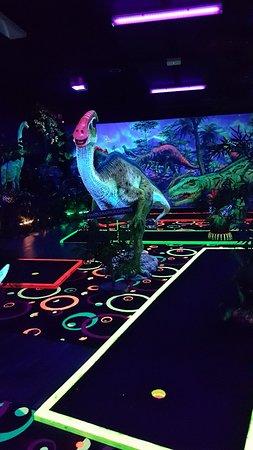 Merriwa, Australia: Chillisaurus Mini Golf