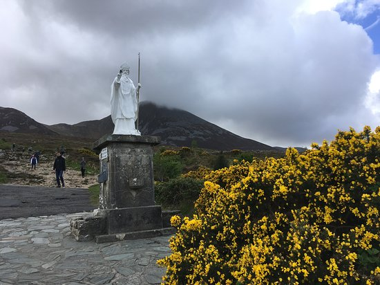 Croagh Patrick: at the starting point