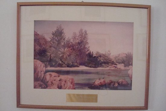 Seychelles Natural History Museum: Life on the Coast of Praslin (Marianne North)