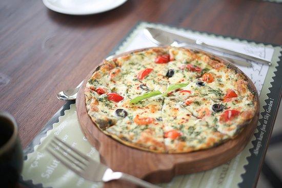 Pondicherry, India: Pizza