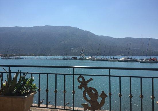 Plataria, Yunani: View from restaurant