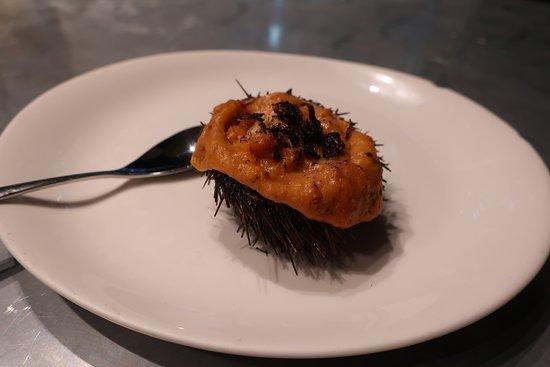 Guria Bar: ウニクリーム焼き