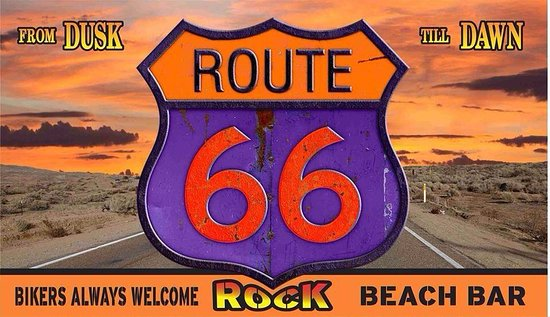 Route 66 Rock Beach Bar