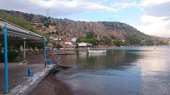 Vivari, Hellas: View inland