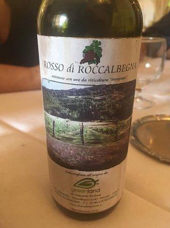 Roccalbegna, Italia: vino produzione propria
