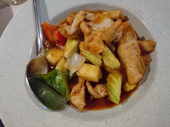 MANGO TREE Surawongse: 魚、肉、野菜の旨辛に?