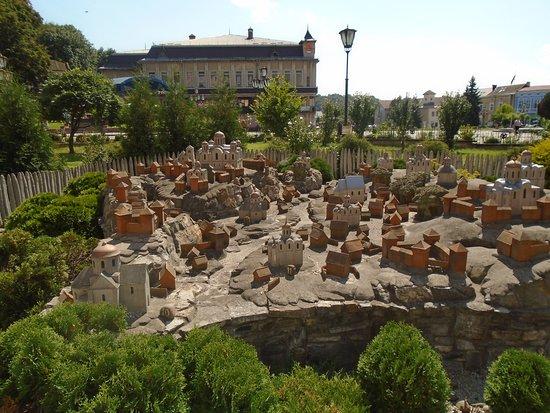 Древний Галич в миниатюре в центре современного Галича - Picture ...