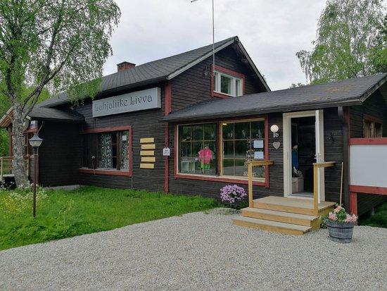 Ivalo, Finnország: Giftshop Livva