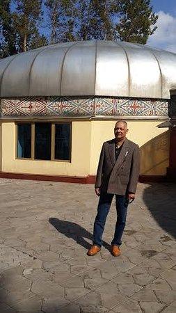 Kok-Tobe Hill: Traditional Kazak home