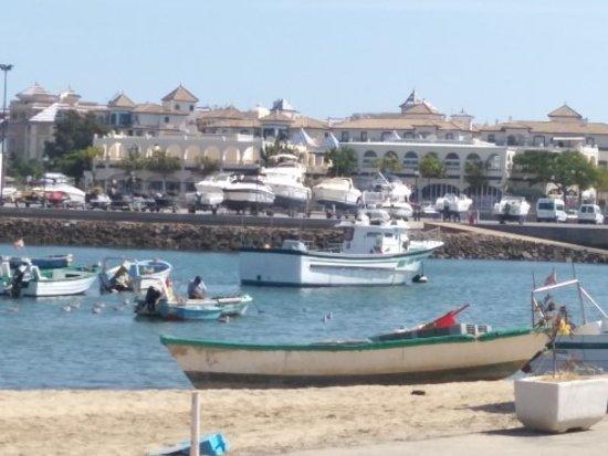 Punta del Moral, Spain: vista desde el restaurante
