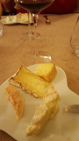la villa des houx: excetionnel plateau de fromagessss