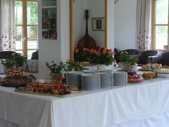 Erlebniscafe Am Samainhof: Für Feste wie Hochzeiten Geburtstag gehört der Ort ihren Gästen