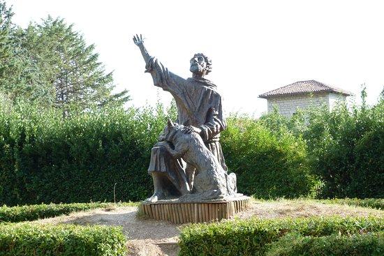 Monumento a San Francesco e il Lupo