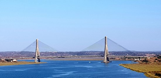 Ayamonte, Spain: Bridge joining Spain and Portugal