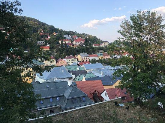 Centrum mesta Banská Štiavnica: Roofs of Banská Štiavnica.