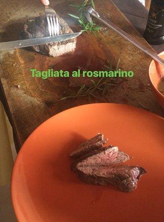 Toritto, Italy: Tagliata al rismarino
