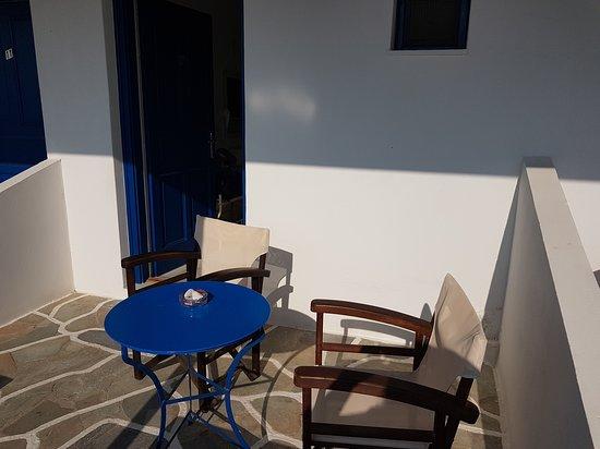 Manganari, اليونان: esterno camera