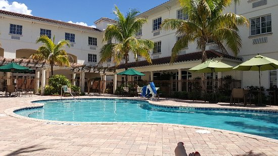 Hilton Garden Inn at PGA Village / Port St. Lucie : Pool Area