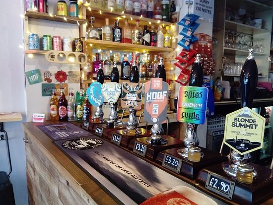 Bamber Bridge, UK: Cask Ales and gins