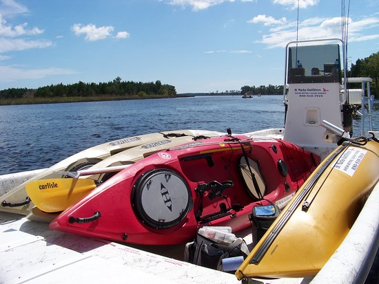 Saint Marks, FL: Kayak Transport Trip! Let us take you where other paddlers cannot go!